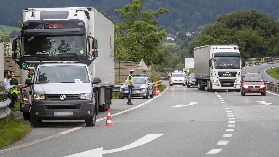 Bei Wattens-Fritzens gilt das Verbot von Montag bis Samstag von sechs bis zehn Uhr.