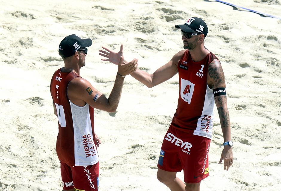 Clemens Doppler (r.) und Alexander Horst.