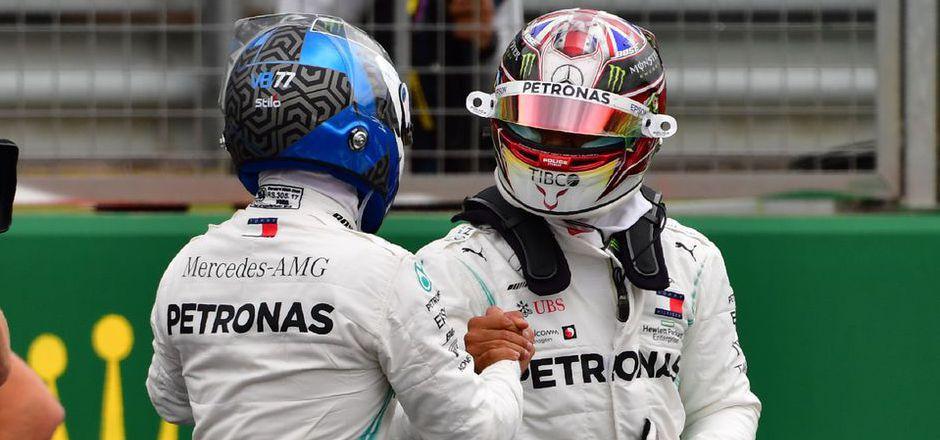 Ob Valtteri Bottas und Lewis Hamilton auch kommende Saison gemeinsame Sache machen, solch sich in der F1-Sommerpause entscheiden.