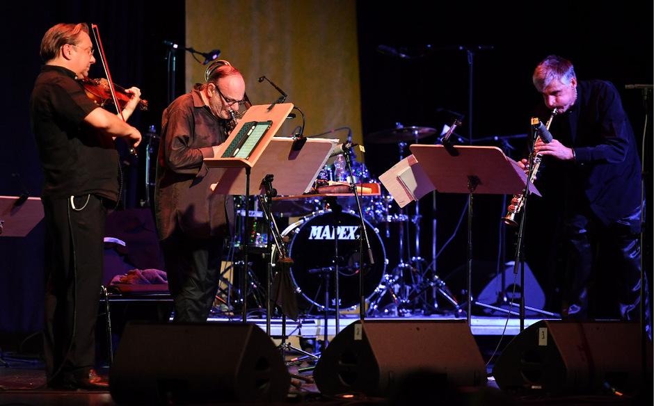 Keine einfache Kost: Adam Taubitz (Violine), Dave Taylor (Bassposaune) und Daniel Schnyder (Saxophon) holten Händel in die Gegenwart.