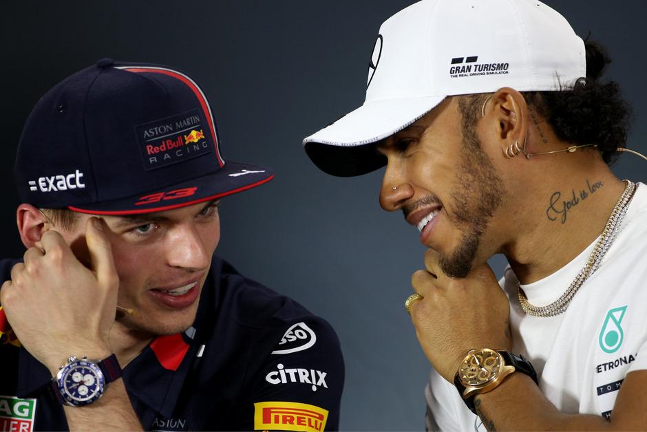 Ob Verstappen und Hamilton auch als Teamkollegen eine harmonische Freundschaft hätten?