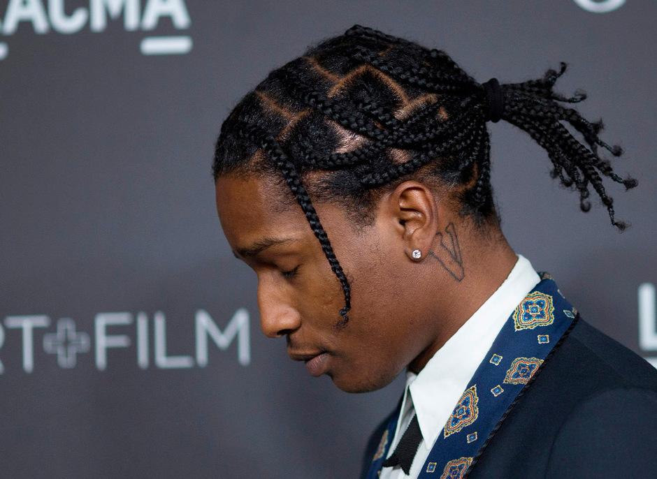 Rapper ASAP Rocky.