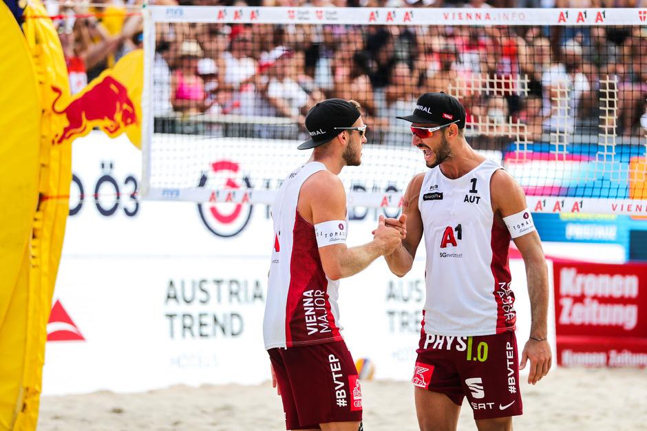 Moritz Pristauz und Martin Ermacora haben am Donnerstag noch eine Chance.
