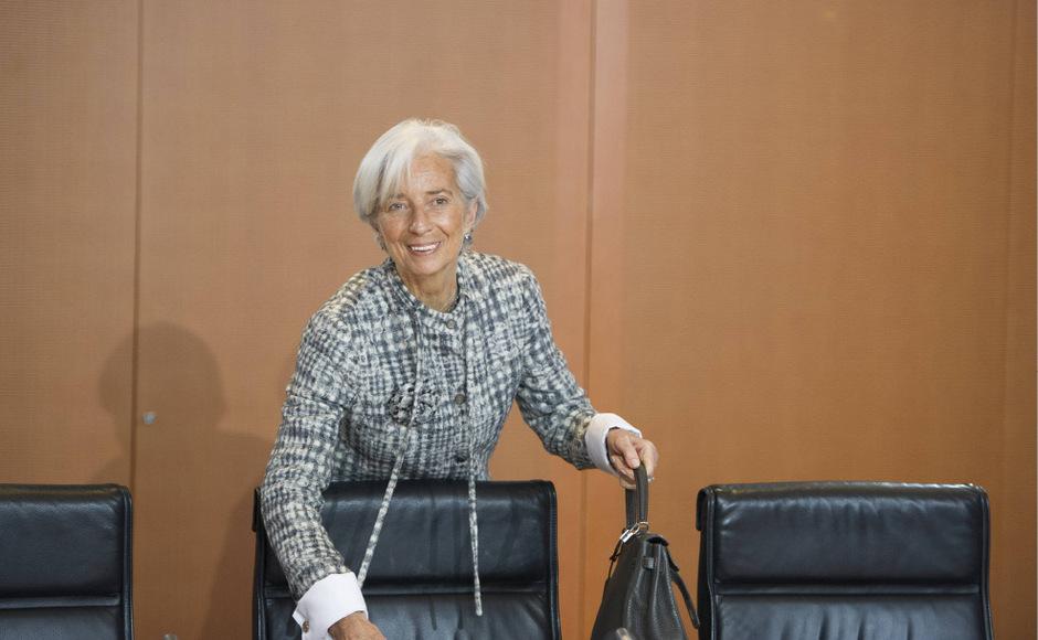 IWF-Chefin Christine Lagarde gibt mit Anfang November ihrer Posten ab und wird EZB-Chefin.