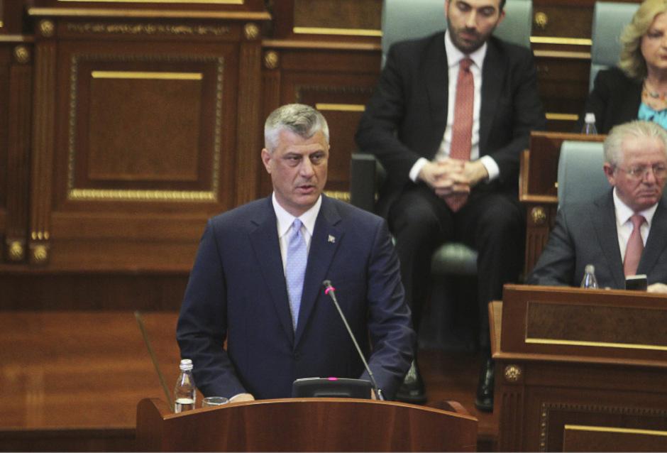 Kosovos Präsident Hashim Thaci