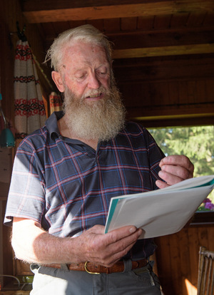 Seine Gedanken über das Zusammenleben von Mensch und Tier hält Taxauer in einem Tagebuch fest.
