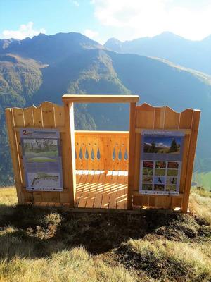 Antholzersee in Südtirol.