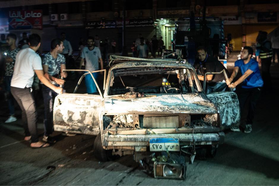 Die Explosion forderte zahlreiche Todesopfer.