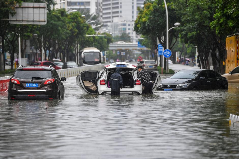"""Der Taifun """"Wipha"""" hat enormen Schaden angerichtet."""