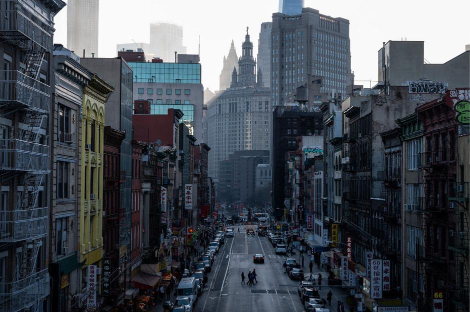 Chinatown in Manhattan hat 100.000 Einwohner.