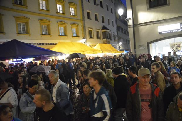 Viel los, tolle Stimmung: das Schwazer Stadtfest 2019.
