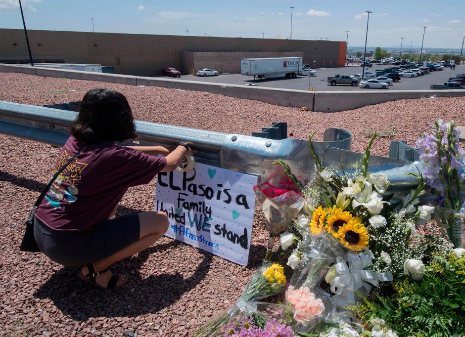 In der Stadt El Paso an der Grenze zu Mexiko soll ein 21-Jähriger in einem Einkaufszentrum das Feuer eröffnet und 20 Menschen getötet haben.