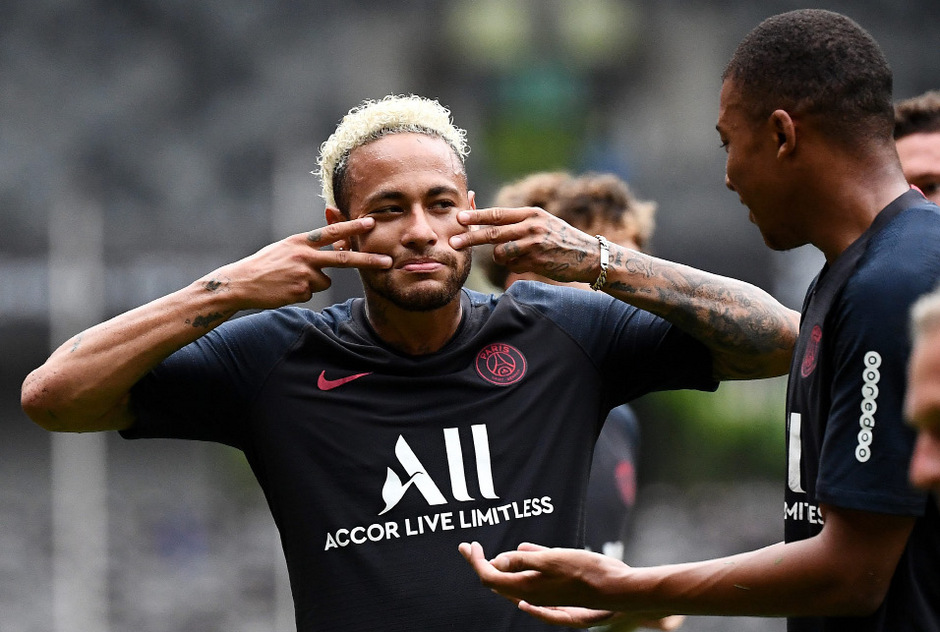 Beim französischen Supercup am Wochenende saß Neymar nur auf der Tribüne.