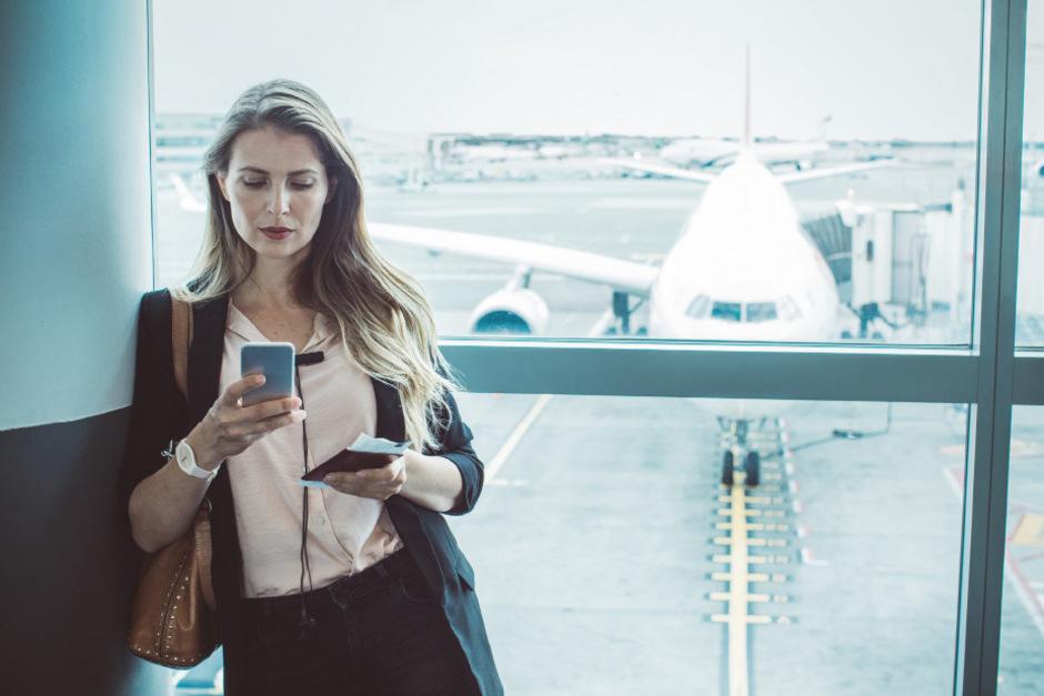 """Die Zahl der Dienstreisen sinkt in Österreich. Mit """"Flugscham"""" hat das nichts zu tun."""