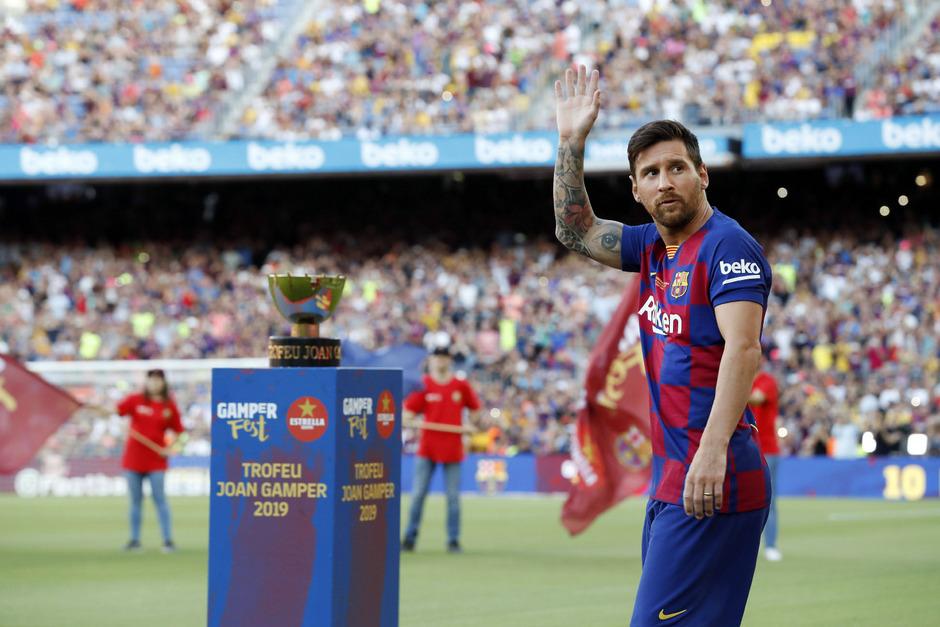 Bei der Saisoneröffnung war Messi noch dabei, auf die US-Tour fährt der Stürmerstar nicht mit.