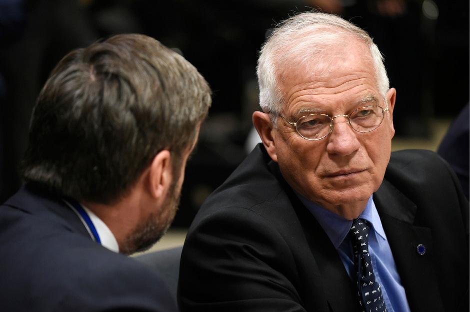 Borrell ist derzeit noch Außenminister im Kabinett des spanischen Ministerpräsidenten Pedro Sánchez.