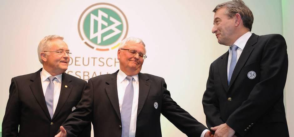 Gegen Horst R. Schmidt, Theo Zwanziger und Wolfgang Niersbach wurde Anklage erhoben.