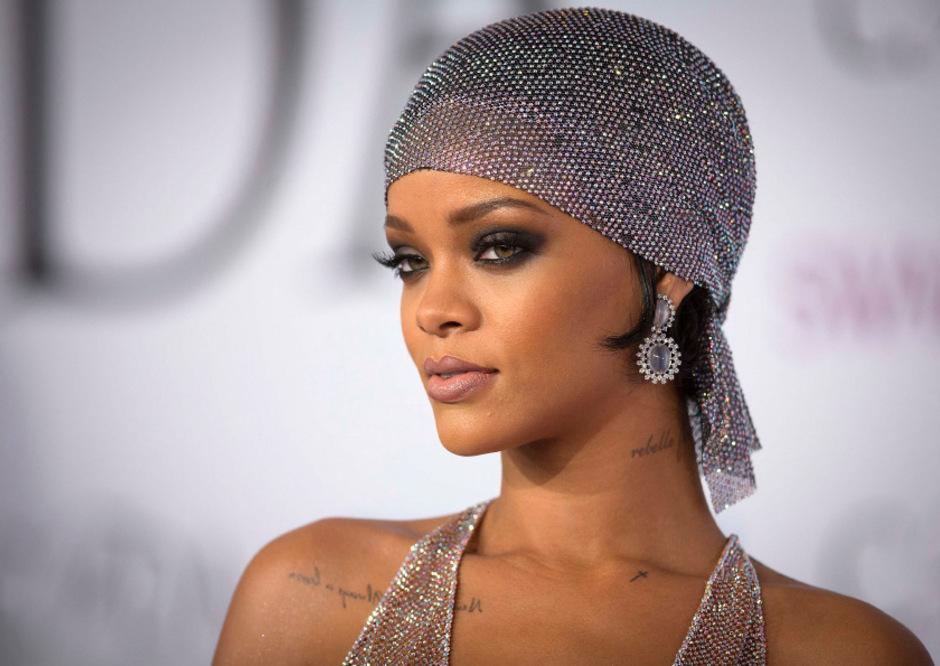 Sängerin Rihanna.
