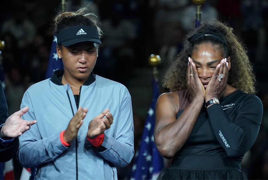 Naomi Osaka und Serena Williams - die Top-Verdienerinnen im Frauen-Sport.