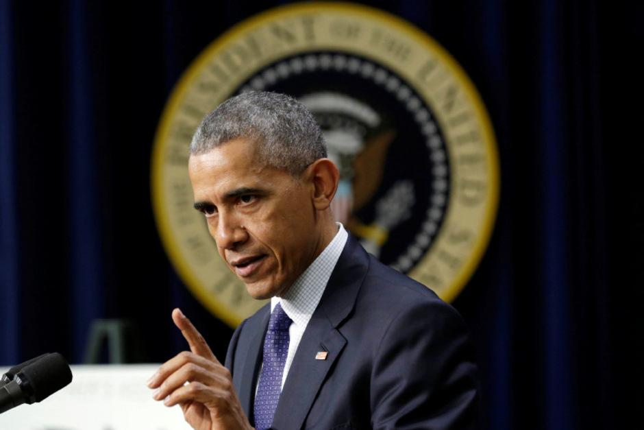 Der ehemalige US-Präsident Barack Obama.