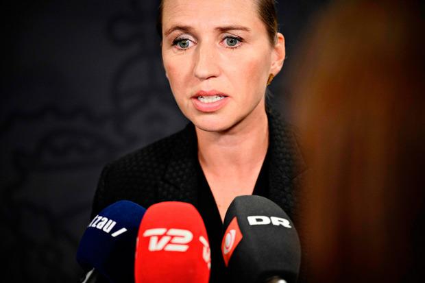 Die dänische Ministerpräsidentin Mette Frederiksen.