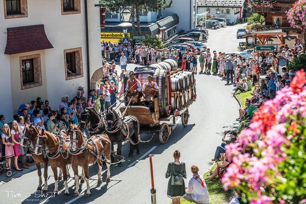 Der große Höhepunkt des Wildschönauer Talfestes: Der Festumzug am Sonntag.