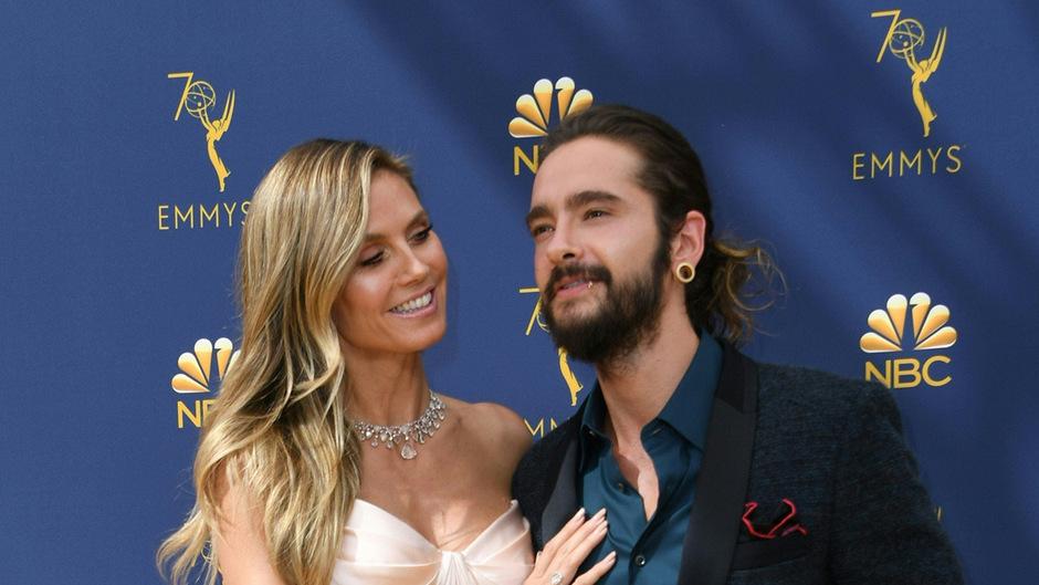 Heidi Klum und Tom Kaulitz sind seit rund eineinhalb Jahren zusammen.