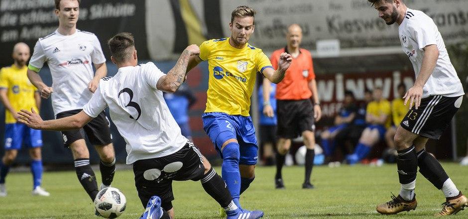 Dominic Grutsch und die SPG Silz/Mötz kehrten nach einem Jahr in die Tiroler Liga zurück.