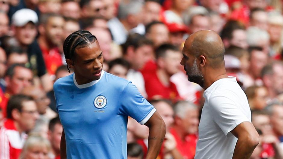 Leroy Sané stehzt noch bei Manchester City unter Vertrag.