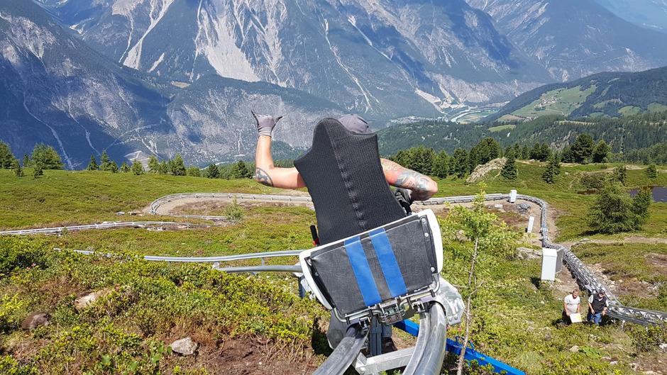 Mit dem 860 Meter langen Venet Bob will die Venet Bergbahnen AG für mehr Frequenz am Berg sorgen.