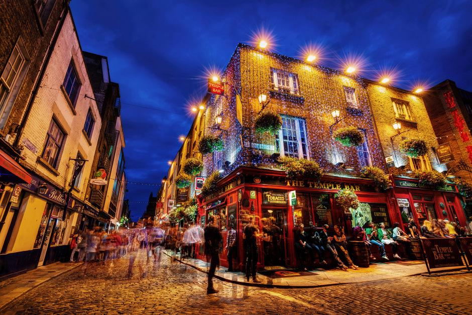 Temple Bar - das Kult-Pub, das man in Dublin besucht haben muss.