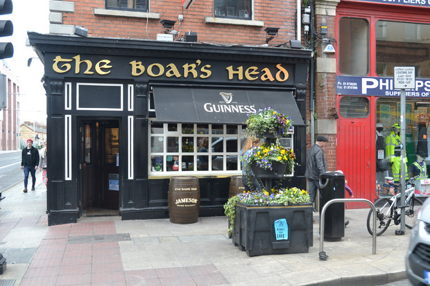 Dublin ist die Stadt der Pubs.