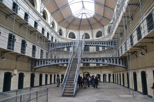 Kilmainham Gaol, das ehemalige Gefängnis.