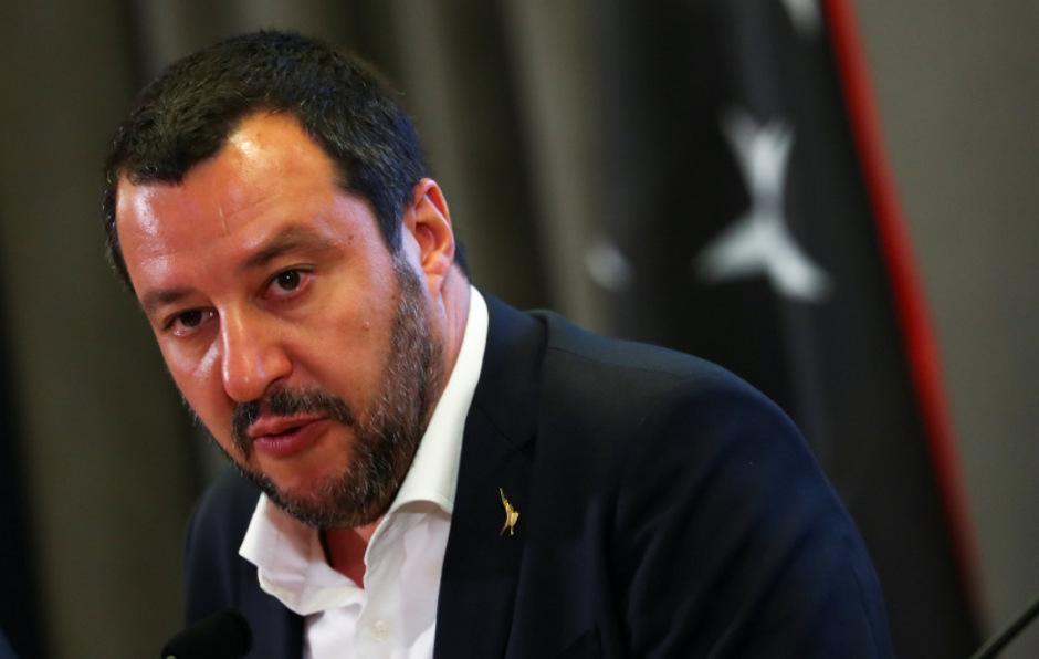 Italiens Innenminister Matteo Salvini (Lega).