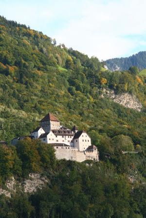 Im Schloss Vaduz ist die liechtensteinische Fürstenfamilie zuhause.