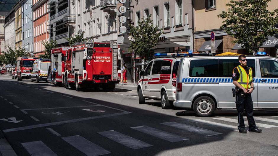 Die Berufsfeuerwehr Innsbruck konnte den Brand rasch löschen.