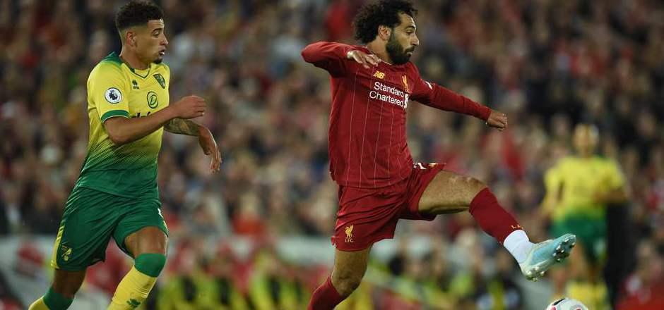 Mohamed Salah traf beim Auftaktsieg für Liverpool.