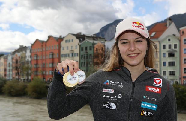 Jessica Pilz gewann im Vorjahr Gold und Bronze.