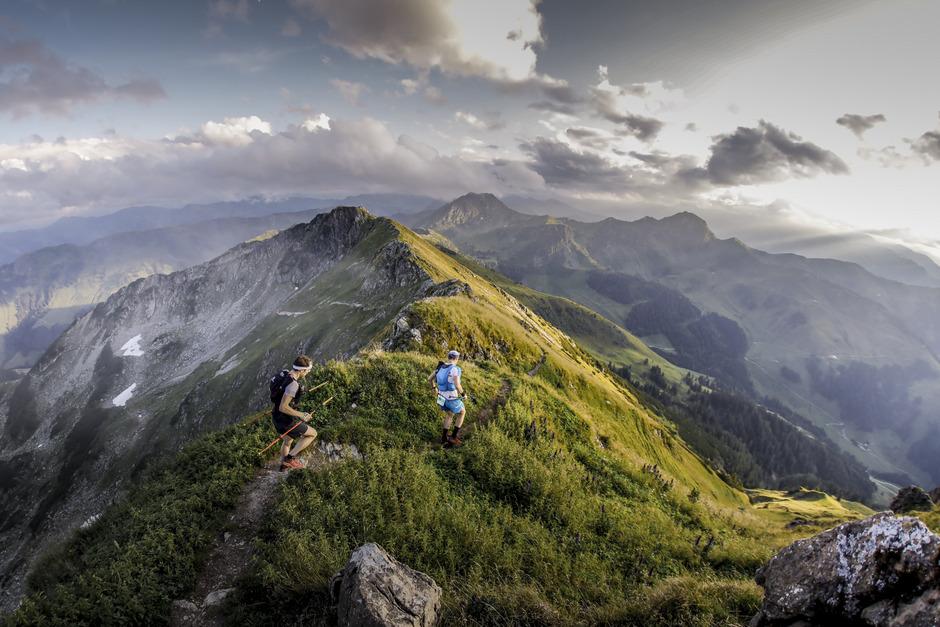 In den Kitzbüheler Alpen legten die Trailrunner beim KAT100Miles 169 Kilometer zurück.