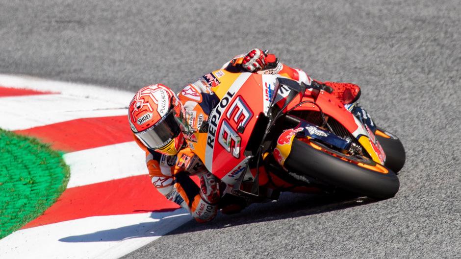 Der Spanier Marc Marquez.