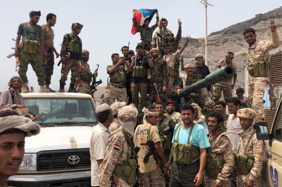 STC-Separatisten in Aden.