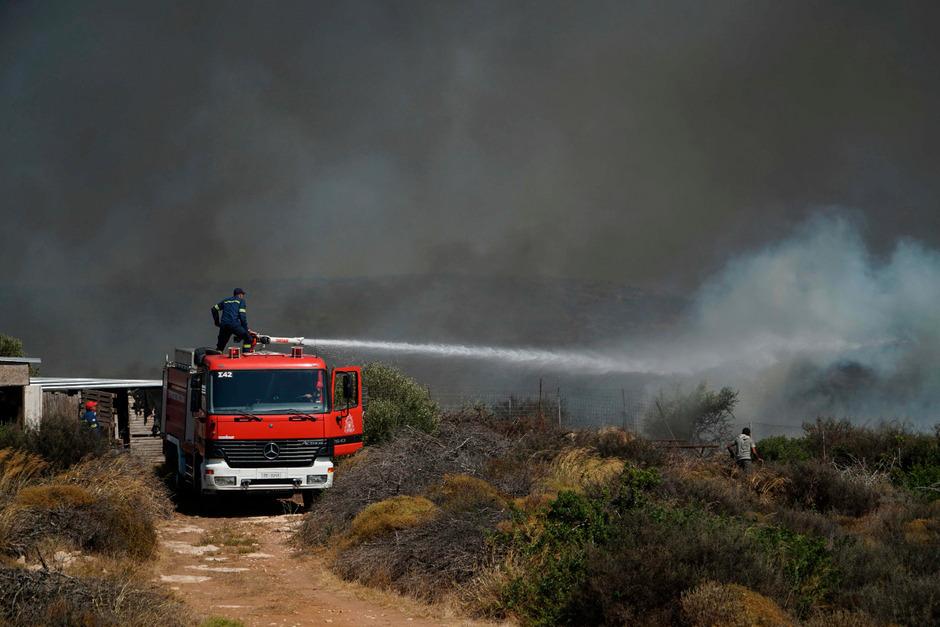 Hunderte Feuerwehren kämpften gegen die Brände.