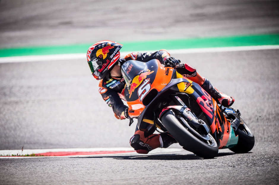 KTM (hier mit Johann Zarco) bleibt weiter in der MotoGP.