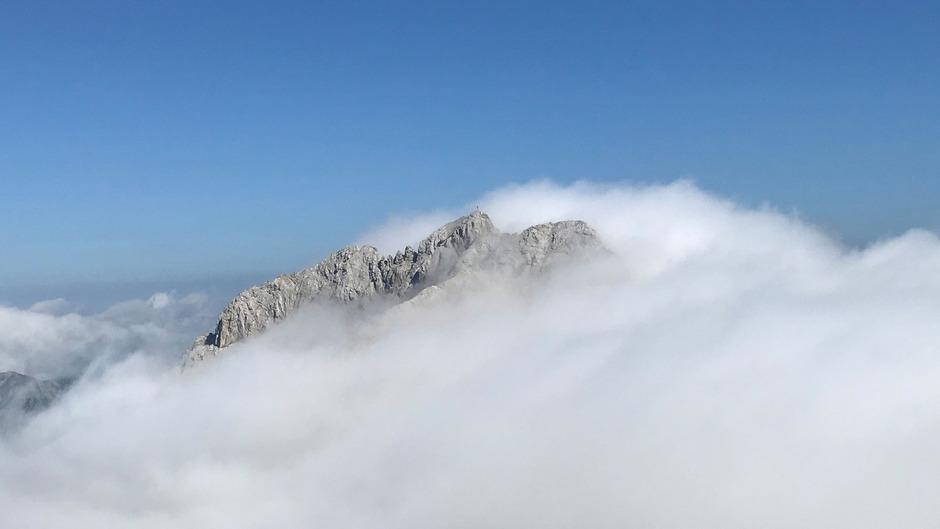 Die Marienbergspitze.