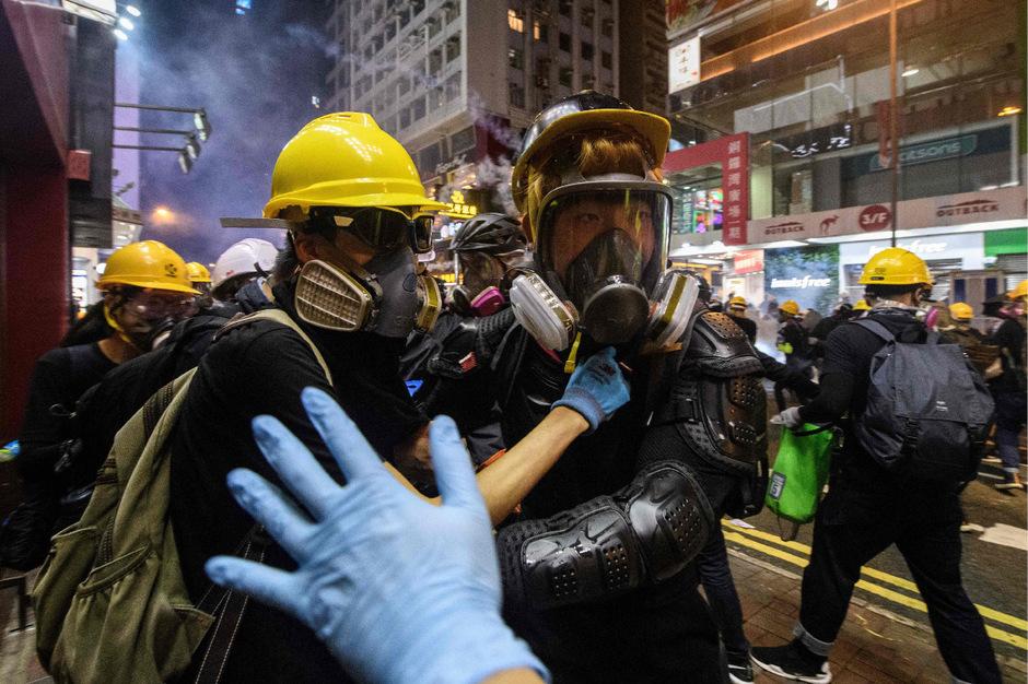 Seit Tagen eskaliert die Situation in Hongkong zusehends.