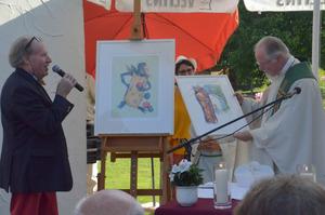 Abt German Erd hielt die Messe