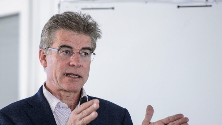 Österreichs BBT-Vorstand Konrad Bergmeister.