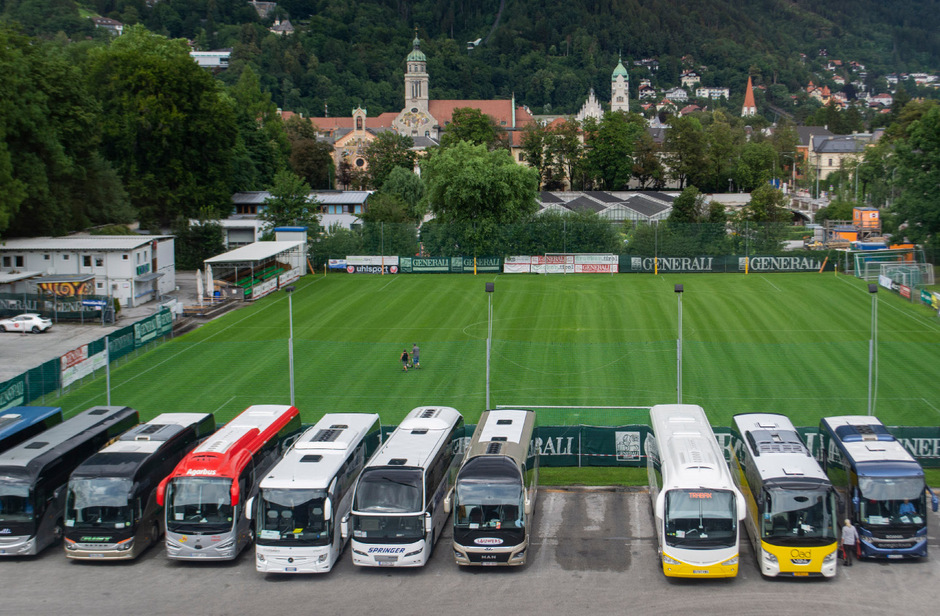 Die Zukunft des Busparkplatzes könnte sich morgen im Stadtsenat entscheiden.
