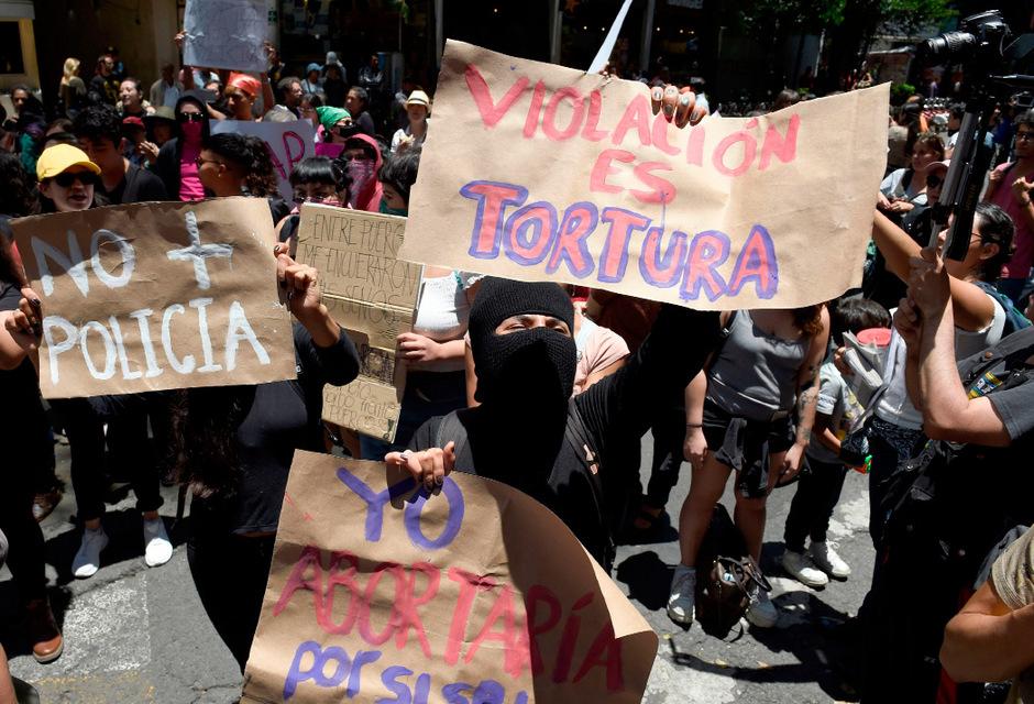 Der Fall löste einen Protestmarsch von Hunderten Demonstranten in Mexiko-Stadt aus.
