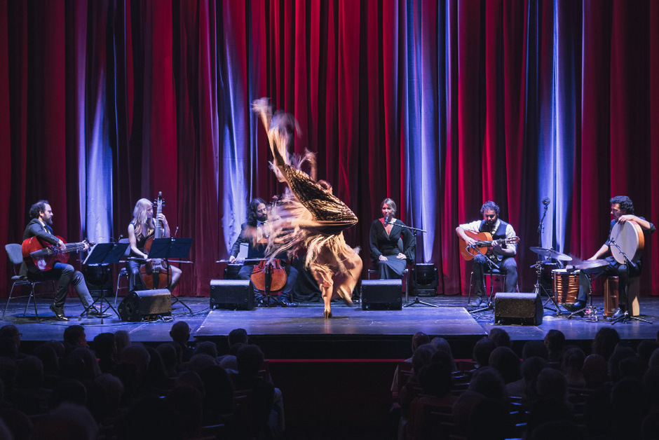 Starker Ausdruck: In eleganten Bewegungen und exakter Rhythmik wird der Körper bei Patricia Guerrero zum Instrument.